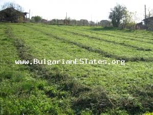 An advantageous parcel of land with views of the countryside  of Yambol Region.