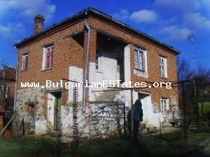 Two-storey house is for sale located 55 km from the city of Burgas, on the River of Faktiska - price 3900 Euro. Don