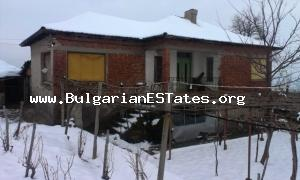 GREAT BARGIN!!! Two-storey brick- build house with huge plot for sale located in Haskovo region.