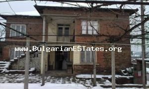 Two-storey house for sale is located near the town of Simeonovgrad.