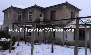 Our offer is a two-storey house for sale located in a region with clean fresh air at the South Bulgaria.