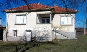 House for sale in good condition is located in an adorable village close to the Sakar Mountain.