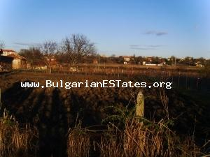 Piece of land is for sale – great opportunity for business investment in the countryside near the beautiful Bulgarian Black sea.