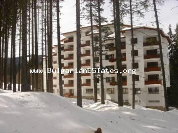 For sale luxurious two-level penthouse style apartment in the ski resort of Pamporovo, Bulgaria.