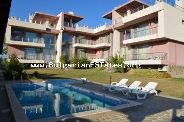 Bulgarian property for sale.Luxury residential complex in the picturesque village of Pismenovo, just 7 km away from one of the largest and most beautiful beaches on the southern coast of Bulgaria.