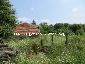 Bulgarian real estate – for sale is a plot of land with old house situated in the hart of the Strandzha Mountain only 27 km from the town of kitten and the sea in Bulgaria.