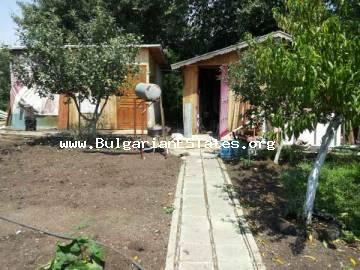 House for sale - villa - located in the village of Mirolubovo, 20 km from Bourgas, the sea and the airport in Bulgaria.