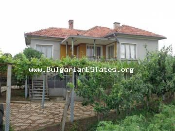 Two-storey rural house is for sale with amazing view in the village of Mramor, Haskovo region, Bulgaria.