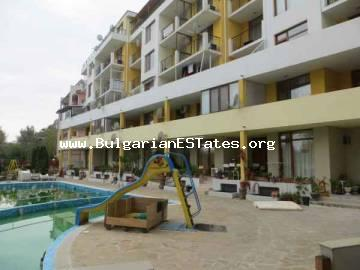 Great bargain! For sale is large furnished studio in the complex of Blue Summer, Sunny Beach, Bulgaria.