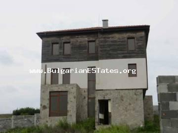 Buy new three-storey house in the village of Dimchevo, 20 km from Bourgas, Bulgaria.