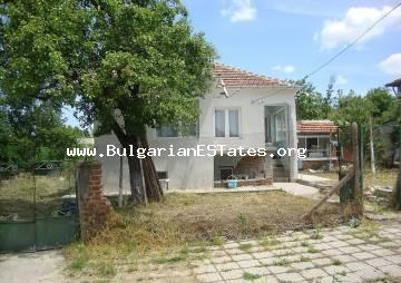Cheap renovated house for sale in the town of Bolyarovo, only 60 km from the city of Bourgas and the sea.