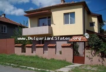 Renovated two-storey house is for sale in the village of Marinka, only 5 km from the sea and 15 km from the magnificent city of Bourgas.