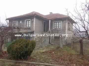 Rural two-storey house is for sale in Bulgarian in the village of Mustrak, Haskovo region.
