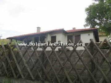 A new house for sale in the village of Bryastovets, only 15 km from Bourgas and the sea.
