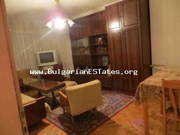 Two-bedroom finished apartment is for sale located in the town of Elhovo, Bulgaria.