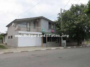 For sale is advantageous house plus business in the village of Vinarsko only 30 km from the seaside city of Bourgas and the sea in Bulgaria.