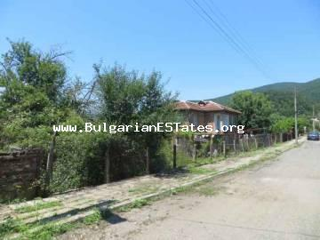 Two-storey house in the village Brodilovo, 12 km from the sea and the town of Tsarevo is offered for sale.
