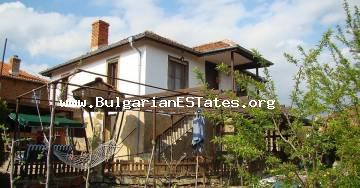 Inexpensive renovated house is for sale in Momina Tsarkva, just 50 km from Burgas and the sea.