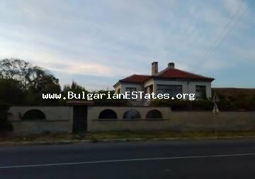 Two-storey house is for sale in the village of Venets, municipality of Karnobat and just 60 km from Bourgas and the seaside.