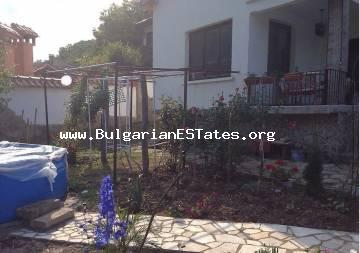 An inexpensive house for sale in the village of Mladezhko, Malko Tarnovo region, only 55 km from the city of Burgas and the seaside.