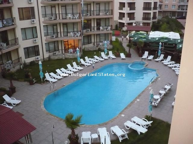 "For sale is a fully furnished apartment in the closed complex ""Sea Grace"", Sunny Beach resort."