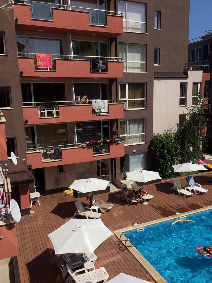 "For sale is one-bedroom apartment in ""Stela Poliaris"" complex, Sunny Beach resort."