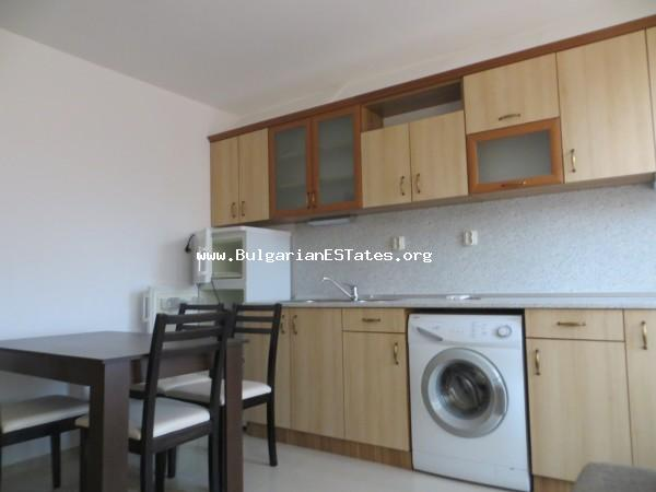 Inexpensive apartment is for sale in St. Vlas with sea view and only 250 meters from the beach.