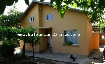 For sale is a two-storey house with an area of 80 sq. m. in the village of Debelt, 20 km from Burgas and the sea.