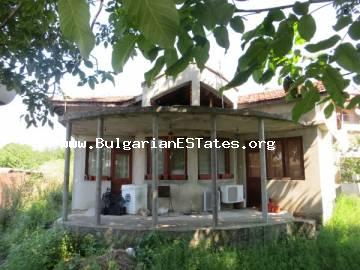 New house for sale in the village of Kamenar only 6 km from the sea and the town of Pomorie