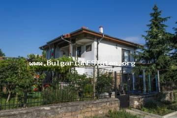 An affordable offer. Two-storey renovated house in the village of Marinka, 3 km from the sea and 12 km from the city of Burgas.