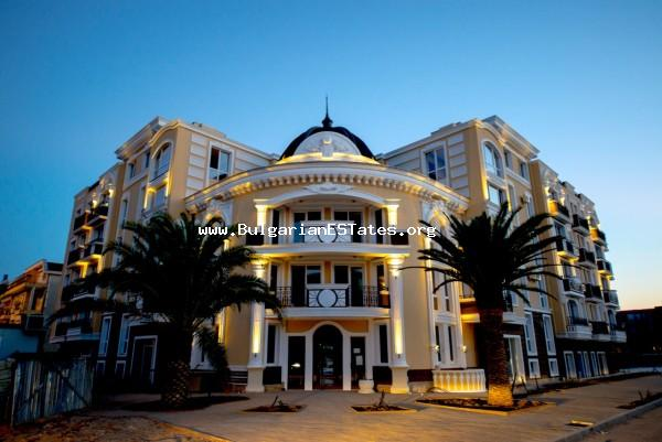 """Messembria Palace ""is the newest and modern resort in Sunny Beach, a gated complex with all the frills and funs inherent to the hotels of the highest rank and standard on a global level."