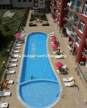 "One bedroom furnished apartment in complex ""Global Valle"", Sunny Beach."