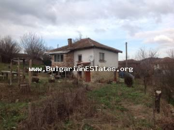 We are glad to offer for sale a house in the village of Prohod, Sredets municipality, only 40 km from the city of Bourgas and the sea.