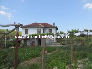 Renovated house is for sale in the village of Slivovo, just 55 km from the city of Bourgas and the sea.