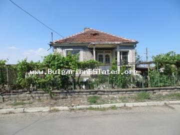 Two storey house for sale in the village of Marinka, only 3 km from the sea and 8 km from the city of Bourgas.