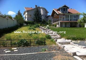 A new two-storey house is for sale in the village of Krushevets, only 35 km away from Burgas and the sea.