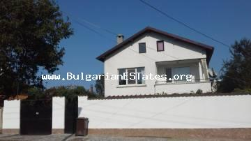 A new two-story house for two families is located in the village of Ravna Gora only 14 km from the sea and 20 km from the city of Bourgas.