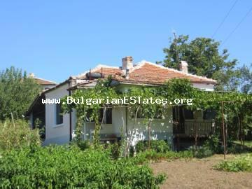 We offer to your attention a house in the village of Dimchevo, only 10 km from the sea shore
