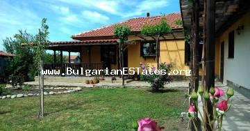 Unique property for sale in the town of Bulgarovo, just 10 km from the city of Bourgas and the sea.