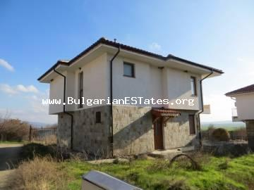 We offer for sale a new two-storey house in the village of Goritsa, only 25 km from Sunny Beach, the sea and 40 km from the city Bourgas.
