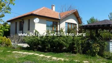 New luxury house for sale is located only 6km from the sea in Bulgaria,Kamenar, Pomorie.