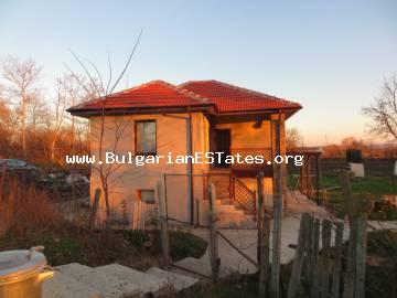 We offer for sale a renovated two-storey house in the village of Trastikovo only 15 km away from the city of Burgas and the sea!