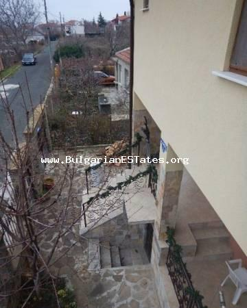 For sale is offered a new two-storey house in the village of Goritsa, just 20 km from Sunny Beach resort, the sea and 35 km from the city of Burgas