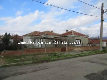 Two houses are for sale in the village of Orizare, only 14 km from Sunny Beach and the sea and 22 km from Bourgas