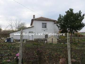 House is offered for sale in the village of Troyanovo, 30 km from the city of Bourgas and the sea.