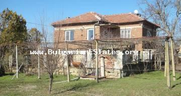 For sale is a renovated two-storey house in the village of Zornitsa, just 50 km from the city of Bourgas and the sea.