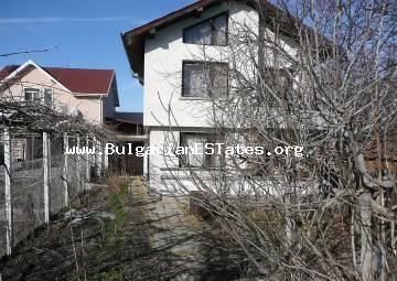 Affordable house is for sale with a sea view in the village of Kamenar, only 6 km from the sea and the town of Pomorie.