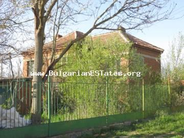 Two-storey massive house is for sale in the village of Golyamo Krushevo, only 60 km away from the city of Bourgas and the sea.