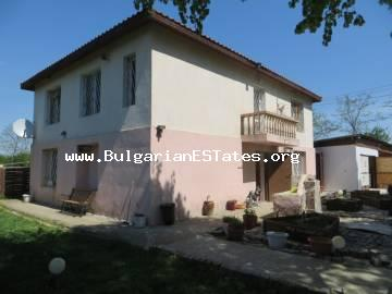 Profitable offer! Two-storey renovated and furnished house is for sale in the village of Rusokastro, 25 km from the city of Bourgas.