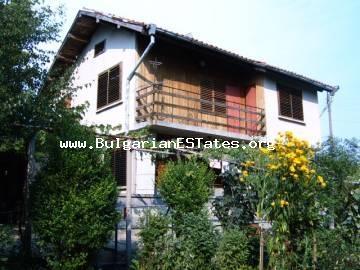 The property is located in the picturesque village of Malomir, Yambol region, 100 km from the sea.